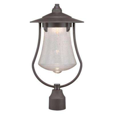 Paxton Aged Bronze Patina Outdoor LED Post Lantern