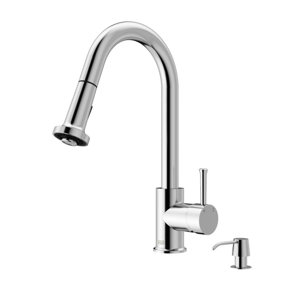 Flow Motion Activated Single-Handle Pull-Down Sprayer Kitchen Faucet ...