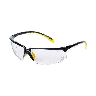Holmes Workwear Black Frame with Clear lenses Safety Glasses (Case of 6)