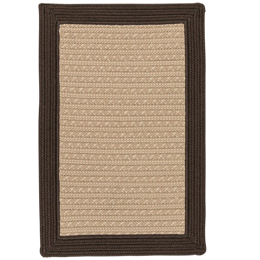 Home Decorators Collection Beverly Brown 2 Ft X 3 Ft Braided Indoor Outdoor Area Rug