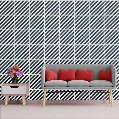 3/8 in. x 15-3/4 in. x 15-3/4 in. Medium Rothwell White Architectural Grade PVC Decorative Wall Panels