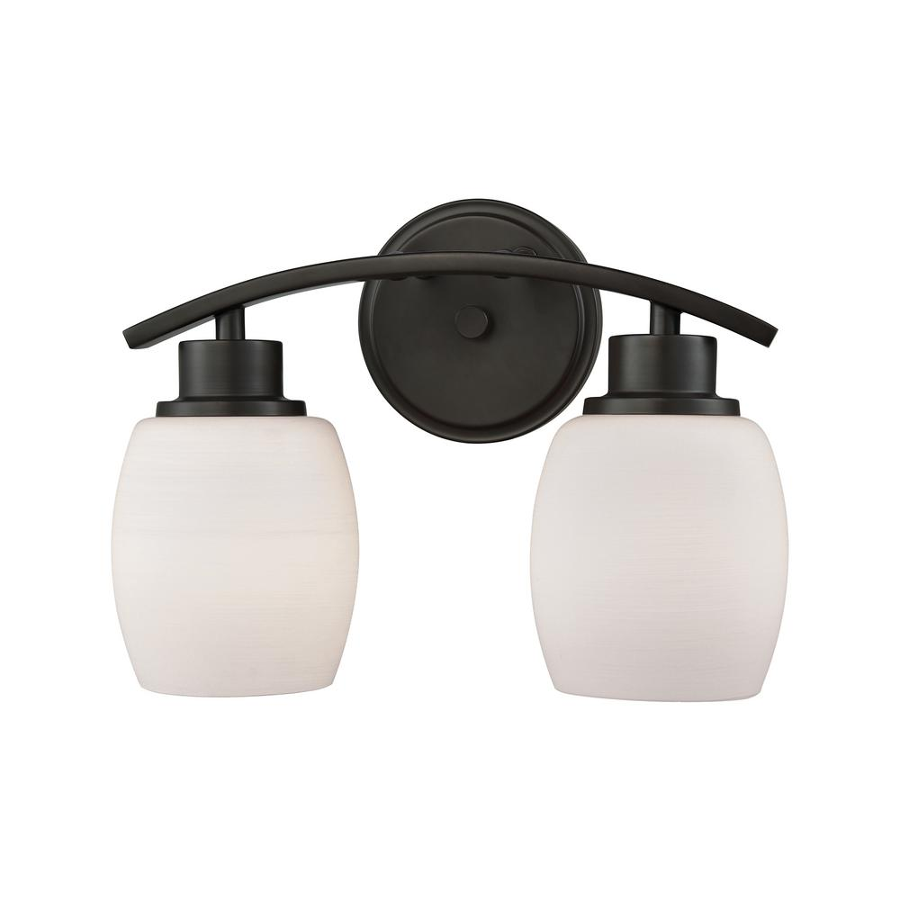 Thomas lighting casual mission 2 light oil rubbed bronze for 20 40 window missions