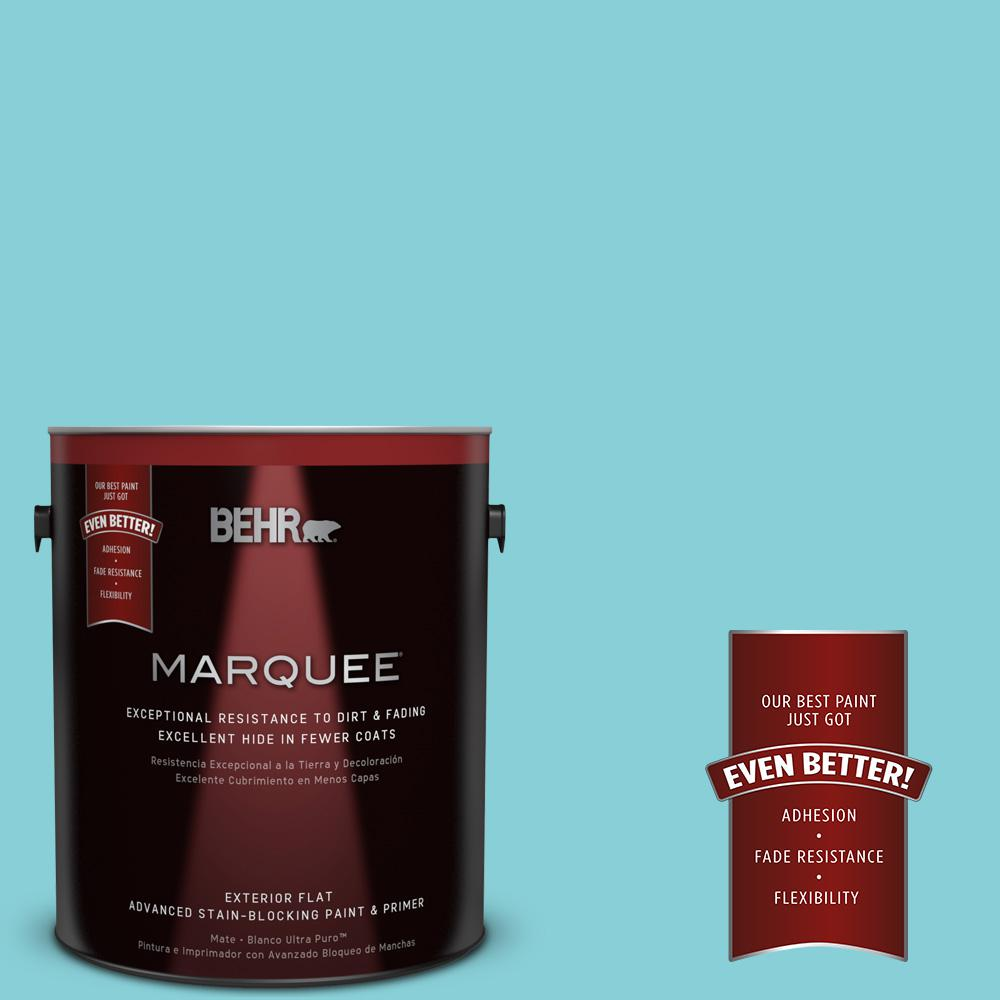 BEHR MARQUEE Home Decorators Collection 1-gal. #HDC-MD-14 Sky Watch Flat Exterior Paint