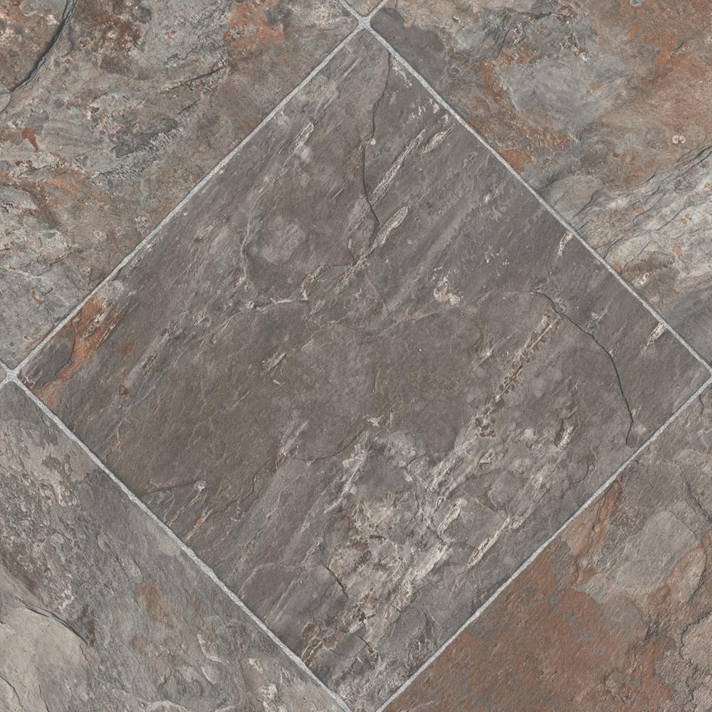 TrafficMASTER Neutral Square Slate 12 Ft. Wide X Your