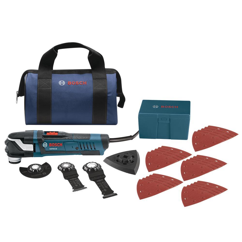 bosch 4 amp corded starlockplus oscillating multi-tool kit (32-piece
