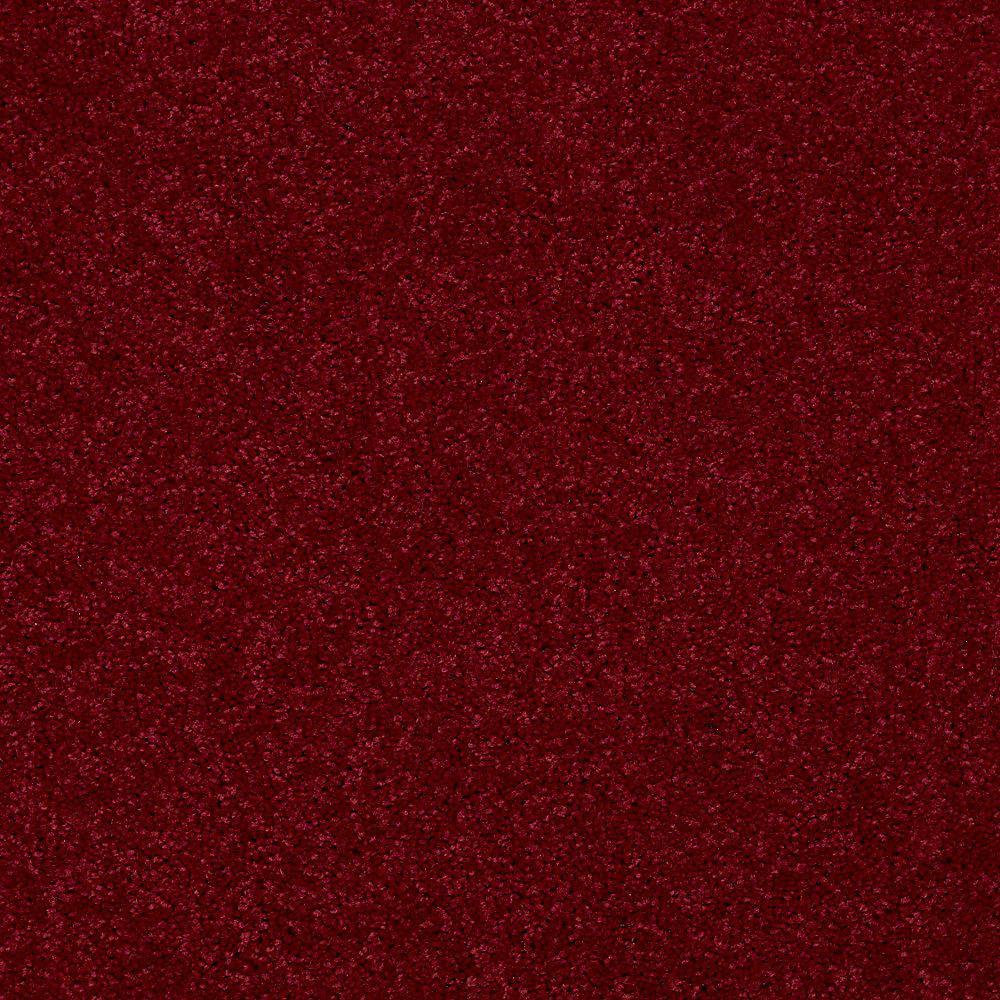 Watercolors II - Color Grenadine Texture 15 ft. Carpet