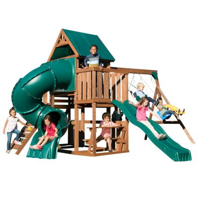 Tellico Terrace Ready-To-Assemble Swing Set