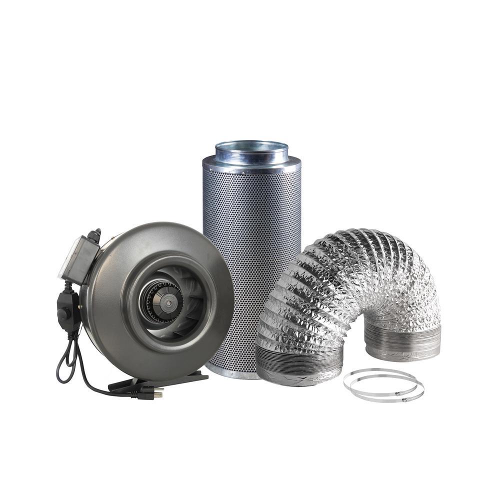 """Timer with Transformer Bathroom Extractor Shower light Fan Kit 4/"""" Chrome//white"""