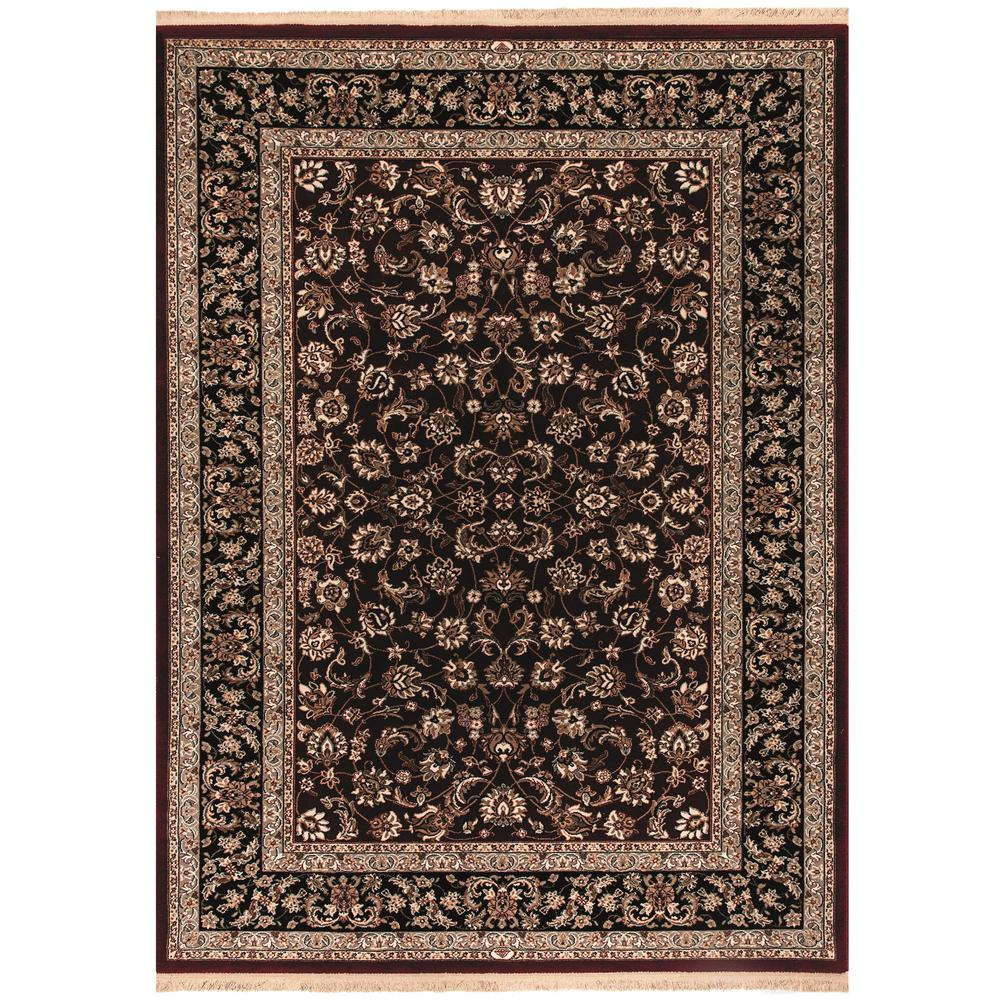 Dynamic Rugs Brilliant Red 2 ft. 2 in. x 4 ft. 3 in. Indoor Area Rug