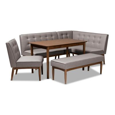 Breakfast Nook Dining Room Sets Kitchen Dining Room Furniture The Home Depot