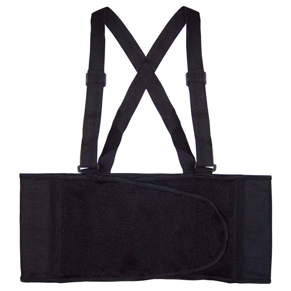 Large Black Back Support Work Belt