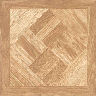Chaucer 12 in. x 12 in. Resilient Vinyl Tile Flooring (45 sq. ft. / case)