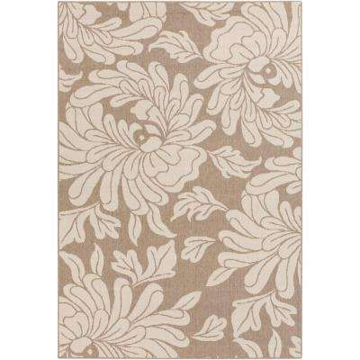 Birch Mountain Cream 9 ft. x 13 ft. Indoor/Outdoor Area Rug