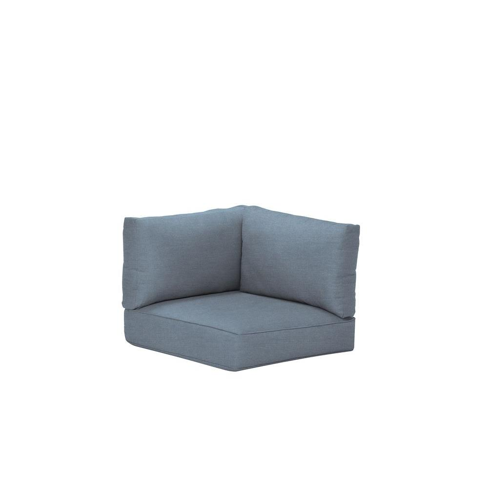 Northshore Patio Corner Sectional Replacement Cushions in Denim