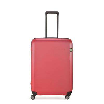 Rando Expandable 26.6 in. Brick Red Hardside Spinner Suitcase