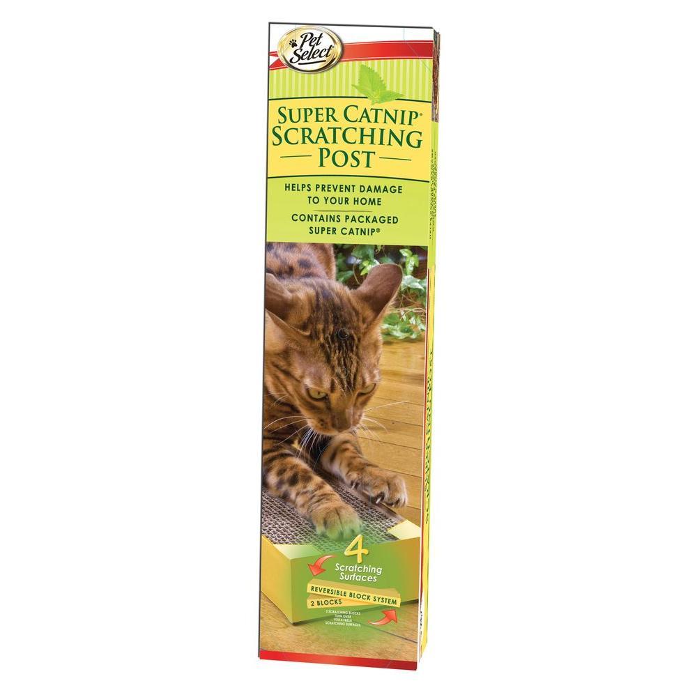 PetSelect Super Catnip Scratching Post