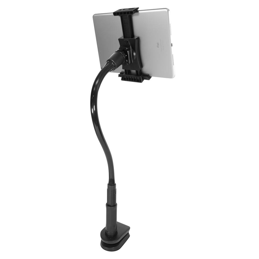 Macally Tablet Holder Stand/Phone Clamp Mount with a 16 in. Flexible on kitchen tablet mount, kitchen tablet stand, kitchen laptop holder, kitchen tablet case, kitchen tablet recipe,