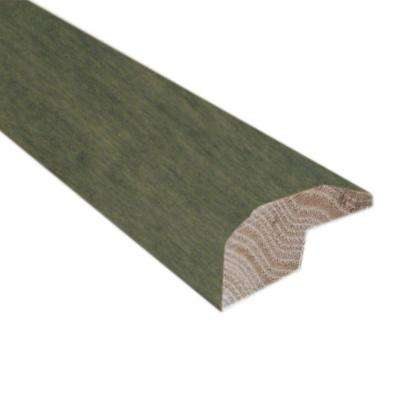Slate 0.88 in. Thick x 2 in. Wide x 78 in. Length Hardwood Carpet Reducer/Baby Threshold Molding