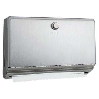 Stainless Steel Surface-Mounted Paper Towel Dispenser