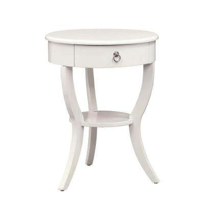 HomeSullivan Pick Up Today White End Tables Accent Tables