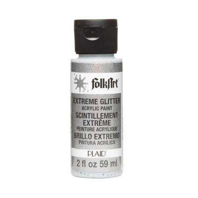 2 oz. Silver Extreme Glitter Craft Paint