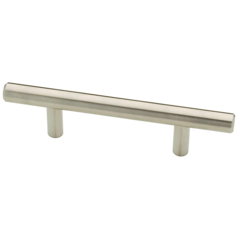 Lovely 3 In. (76mm) Stainless Steel Bar Pull