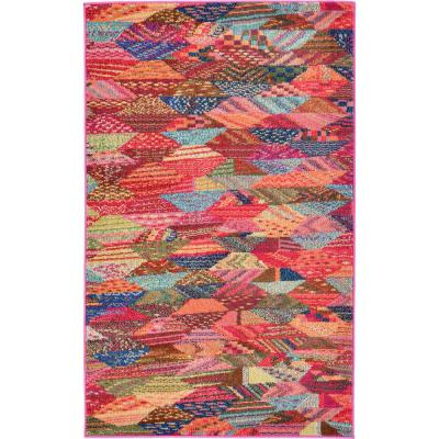 Sedona Rainier Multi 3' 3 x 5' 3 Area Rug