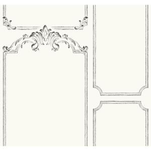 Magnolia Home by Joanna Gaines 60.75 sq. ft. Magnolia Home French Panel Removable Wallpaper by Magnolia Home by Joanna Gaines