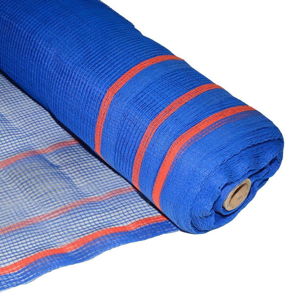 BOEN 8.6 ft. x 150 ft. Blue Fire Resistant Construction Safety Netting