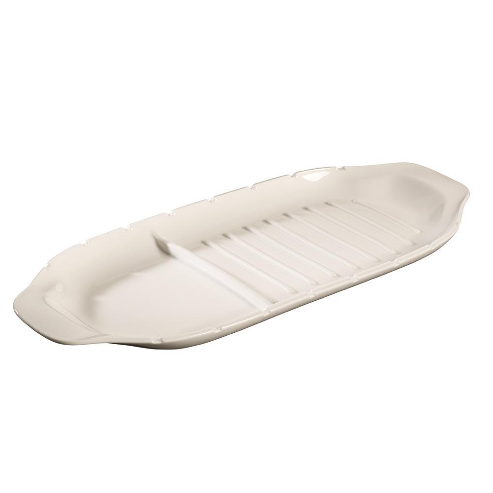 BBQ Passion White XL Porcelain Kebab Platter