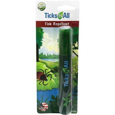 Ticks-N-All 0.6 oz. Ready-To-Use All Natural Tick Repellent Mini Spray