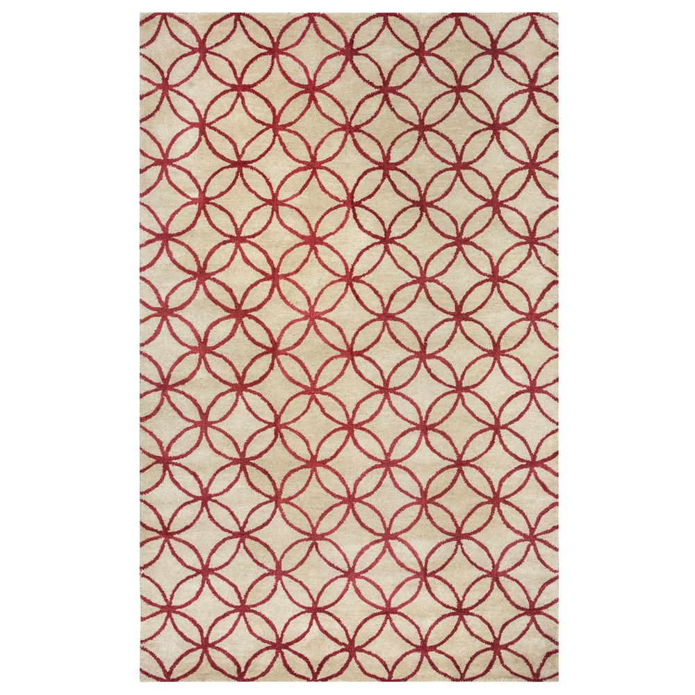 Opus Maroon (Red) 2 ft. x 3 ft. Area Rug