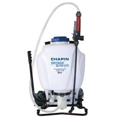 4 Gal. Pre-Treat and Liquid Ice Melt Backpack Sprayer