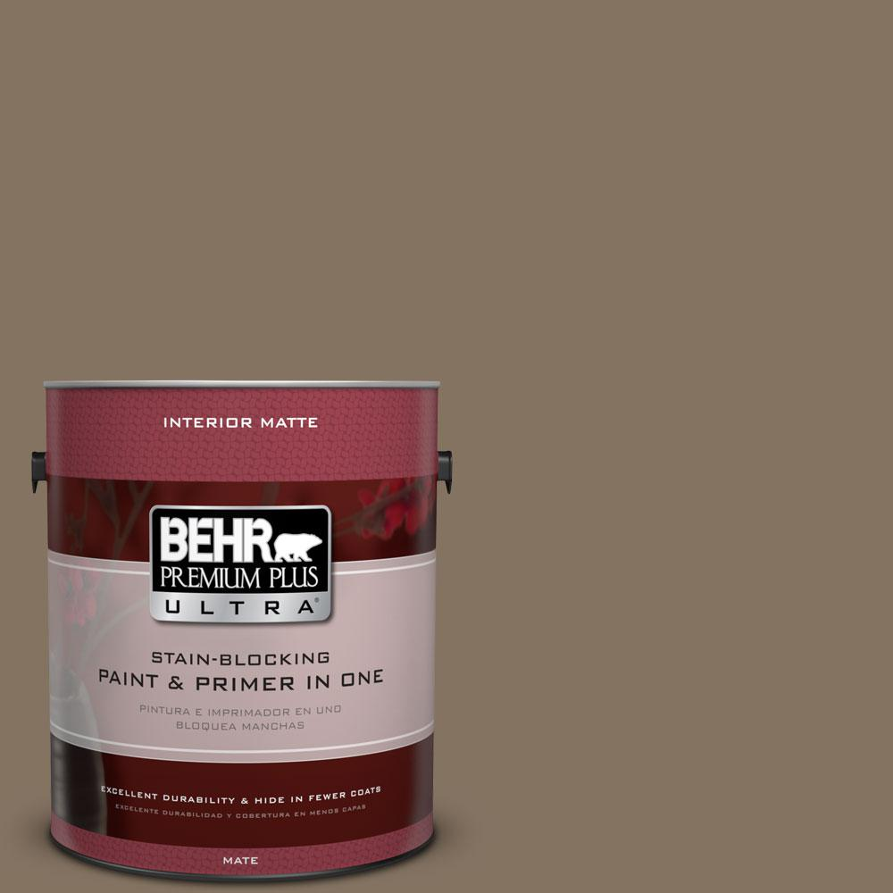1 gal. #BXC-05 Mudslide Matte Interior Paint