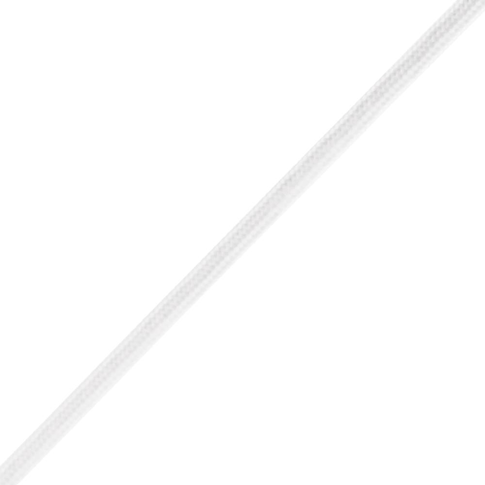 Everbilt 1/8 in. x 1 ft. Paracord, White