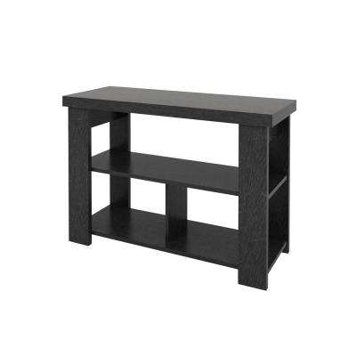 Vantage Black Oak Console Table