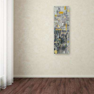 "24 in. x 8 in. ""Reflections III"" by Danhui Nai Printed Canvas Wall Art"