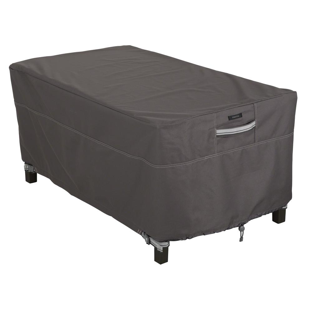 Clic Accessories Ravenna Rectangular Patio Coffee Table Cover 55 327 015101 Ec The Home Depot