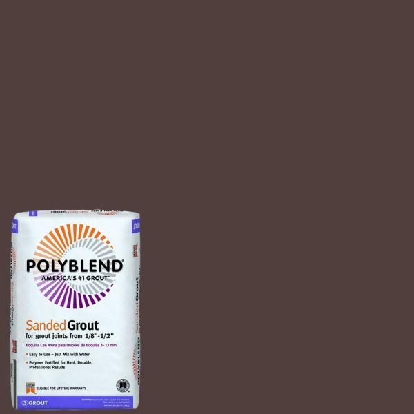 Polyblend #95 Sable Brown 25 lb. Sanded Grout