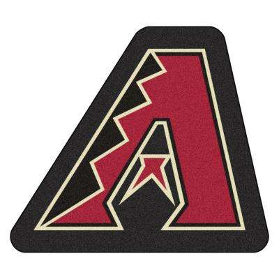 MLB - Arizona Diamondbacks 34.2 in. x 30 in. Indoor Area Rug Mascot Mat