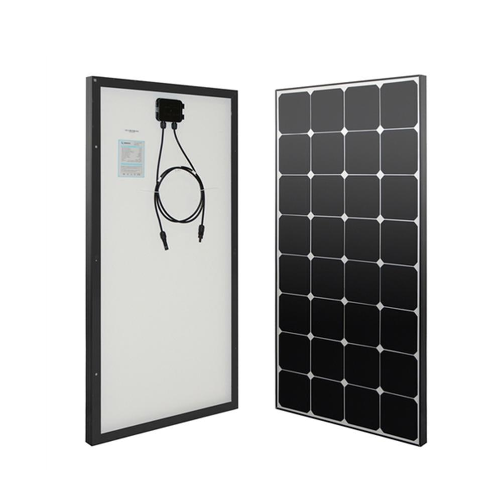 Solar Panels Alternative Energy Solutions The Home Depot Tips When Adding Circuit Breaker For Diy Your Eclipse 100 Watt 12 Volt Monocrystalline
