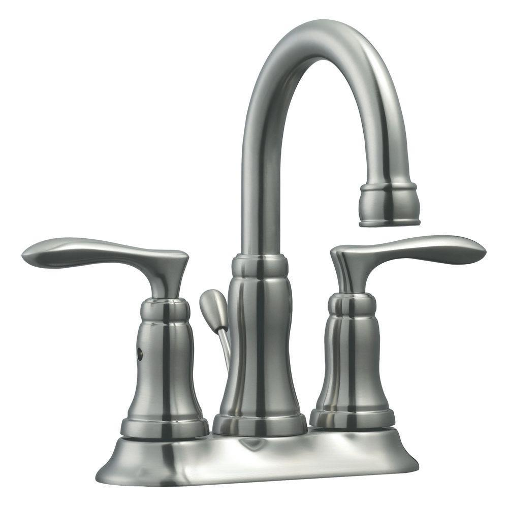 Design House Madison 4 in. Centerset 2-Handle Bathroom Faucet in ...