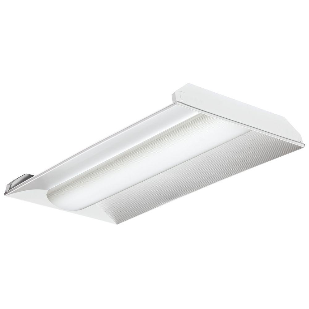 2VTL4 40L ADP EZ1 LP835 4 ft. Gloss White LED Architectural