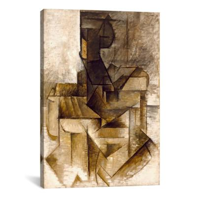 """The Rower"" by Pablo Picasso Canvas Wall Art"