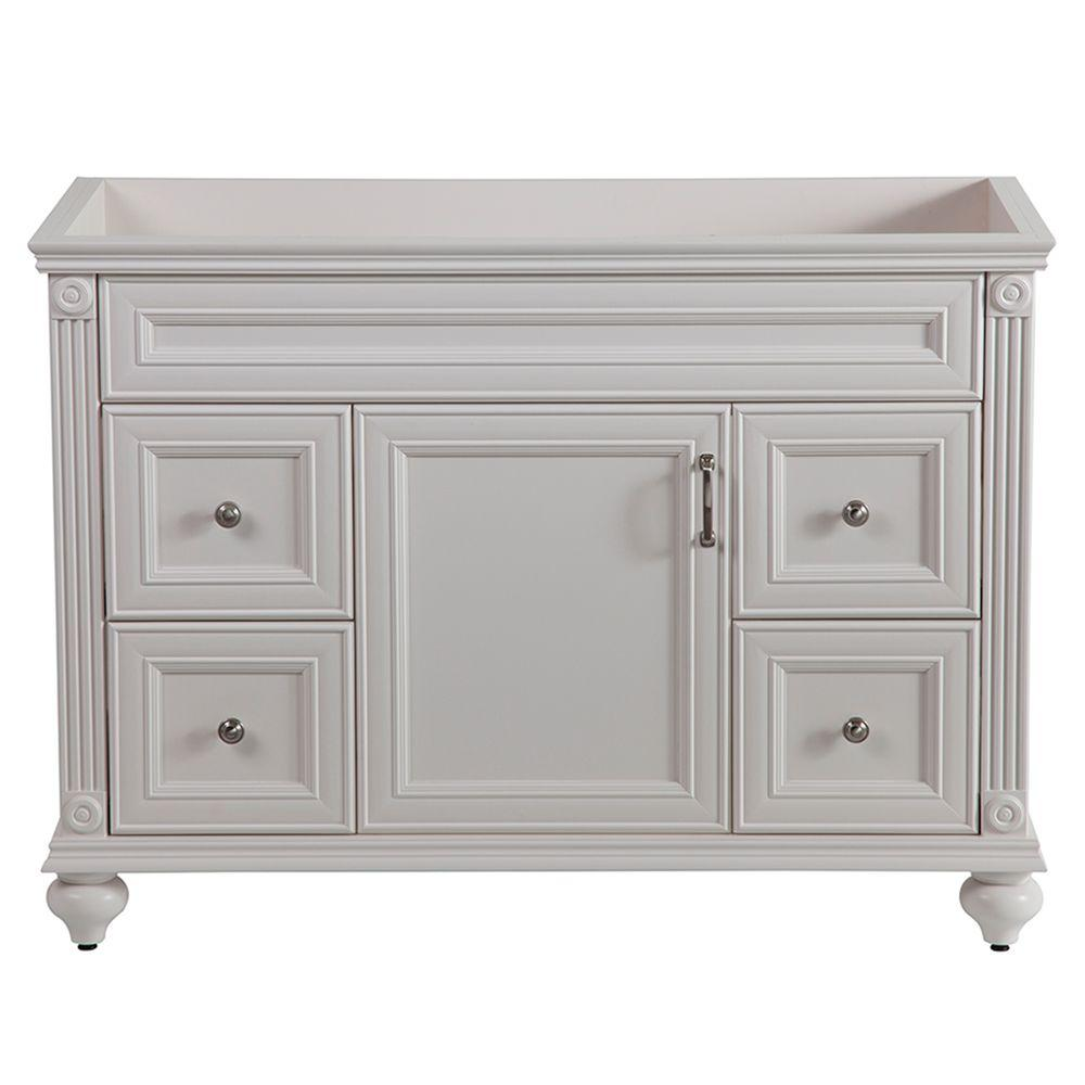 Home Decorators Collection Annakin 48 In W Bath Vanity Cabinet Only In Cream Clsd4821 Cr The