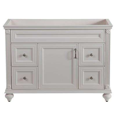 Annakin 48 in. W x 34 in. H x 22 in. D Bath Vanity Cabinet Only in Cream