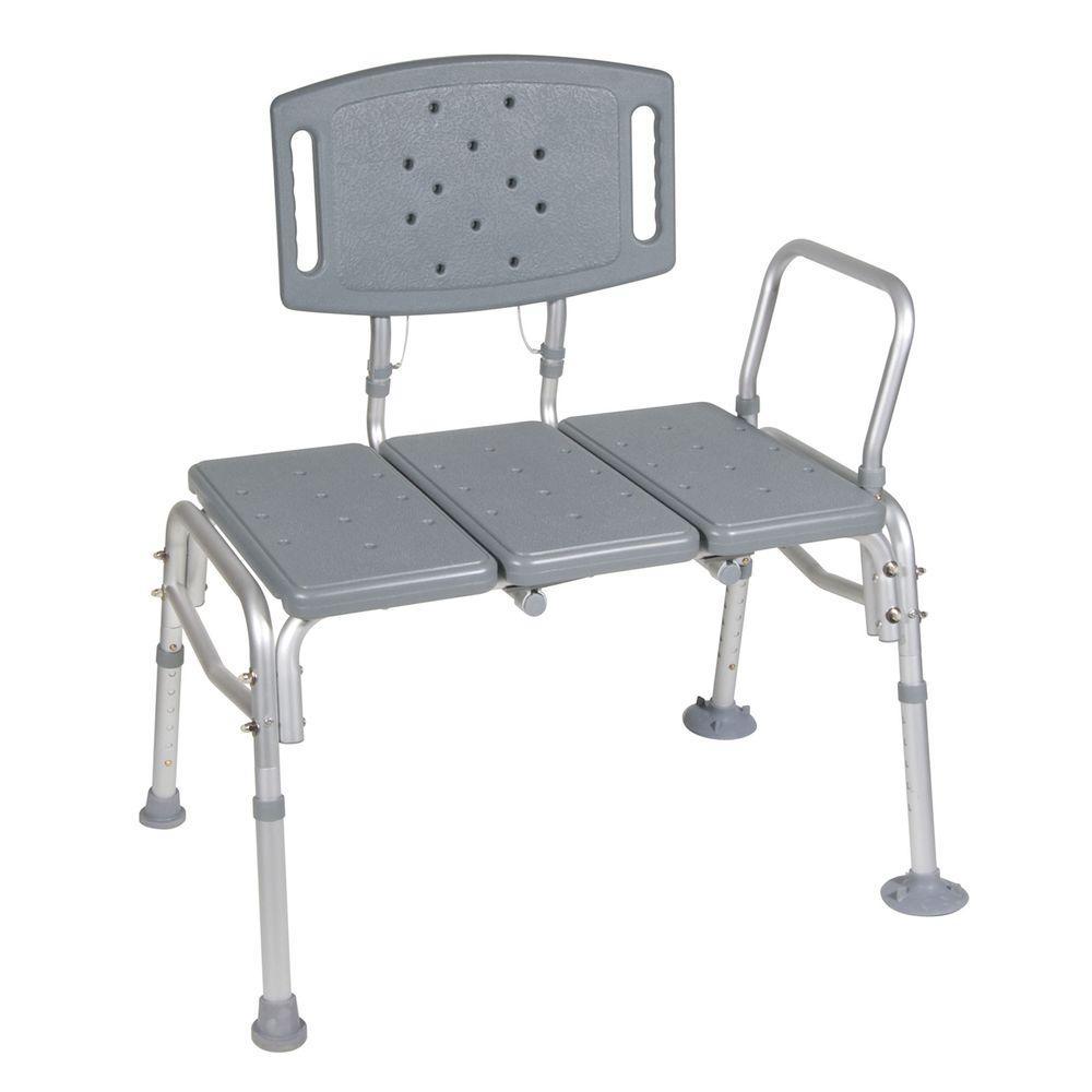 Heavy Duty Bariatric Plastic Seat Transfer Bench