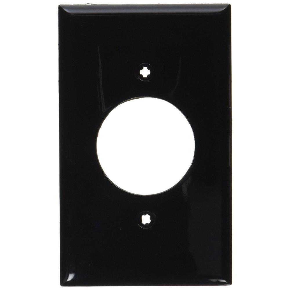 Pick Up Today Black Wall Plates Jacks The Home Leviton Light Almond Decora Triple Rocker Switch Triplex 1 Gang Single Receptacle Standard Size Nylon Plate