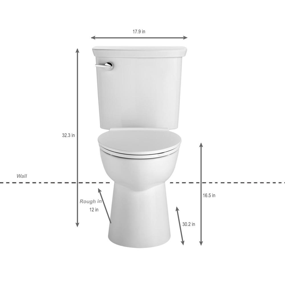 Fabulous American Standard Vormax Uhet Tall Height 2 Piece 1 0 Gpf Single Flush Elongated Toilet In White Seat Not Included Ibusinesslaw Wood Chair Design Ideas Ibusinesslaworg
