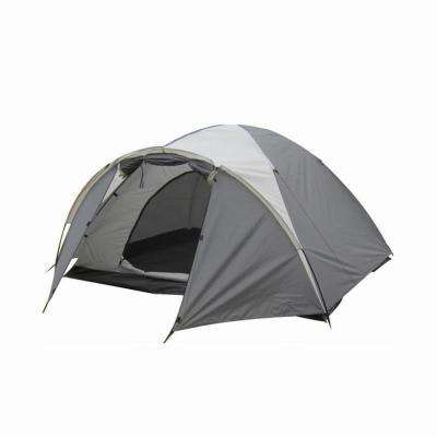 4-Person Dome Tent in Grey